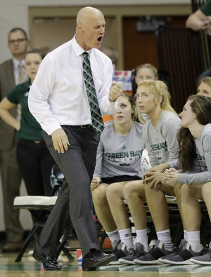 UWGB coach Kevin Borseth views former Seymour star Hailey Oskey as a franchise type player for his program