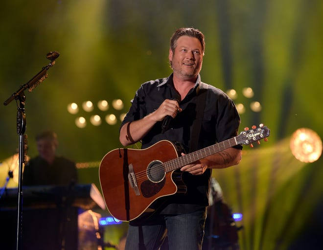 Blake Shelton will play the Resch Center on March 16, and he's bringing friends.
