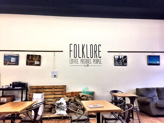 Folklore Coffee in Conrad.