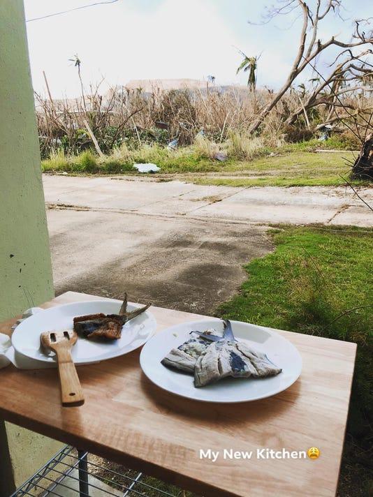 Jhenny Hebres Photo Of Outside Kitchen