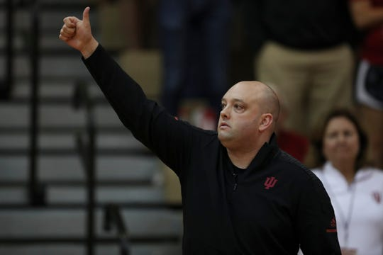 New IU volleyball coach Steve Aird has injected energy into his program in his first season, and begun turning the Hoosiers around in the competitive Big Ten.
