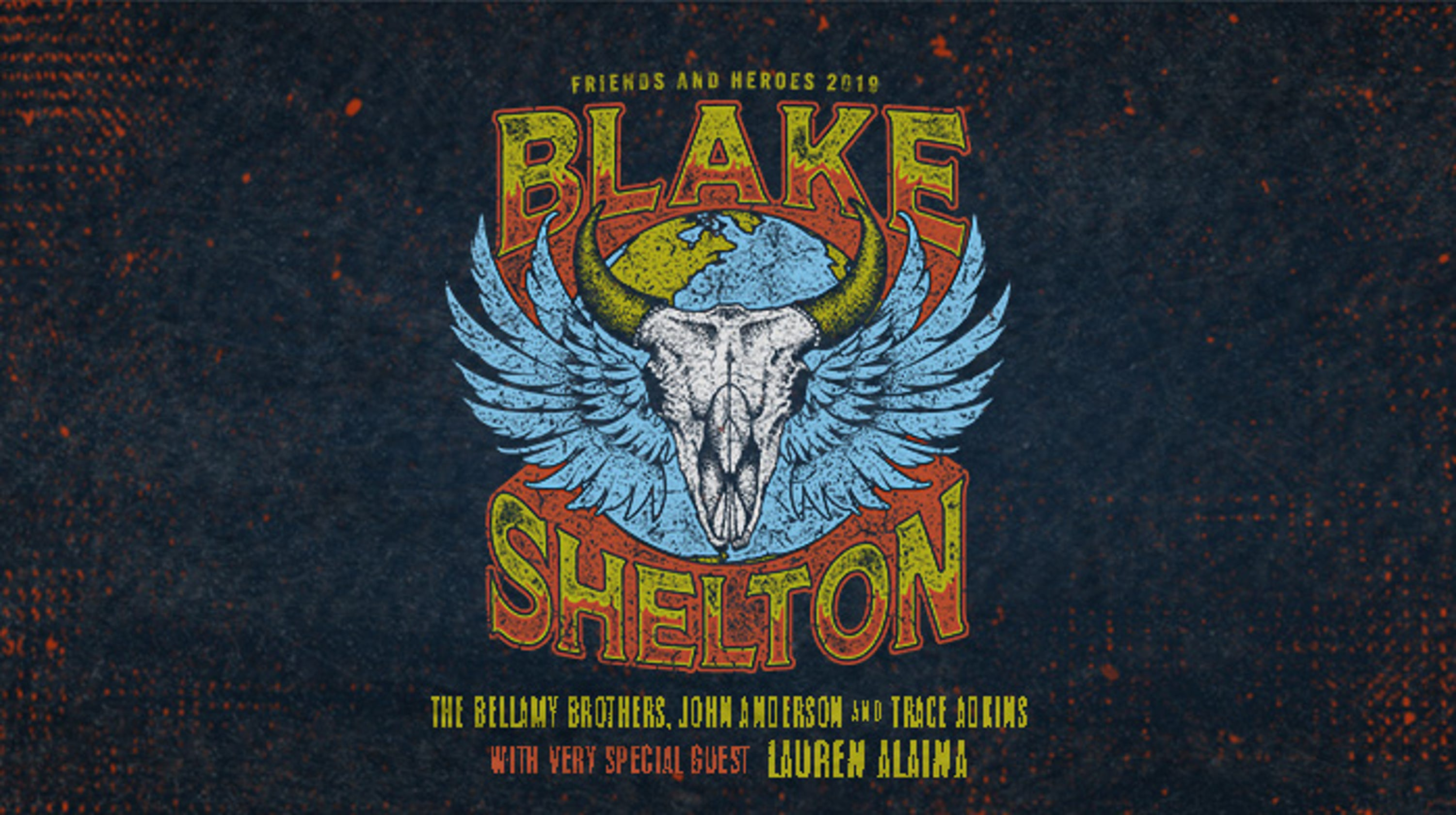Des Moines Shopping >> Blake Shelton Friends and Heroes Tour Presale Tickets