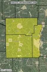The Mississippi Department of Wildlife, Fisheries, and Parks confirmed CWD in Pontotoc County and put response plan measures in place.