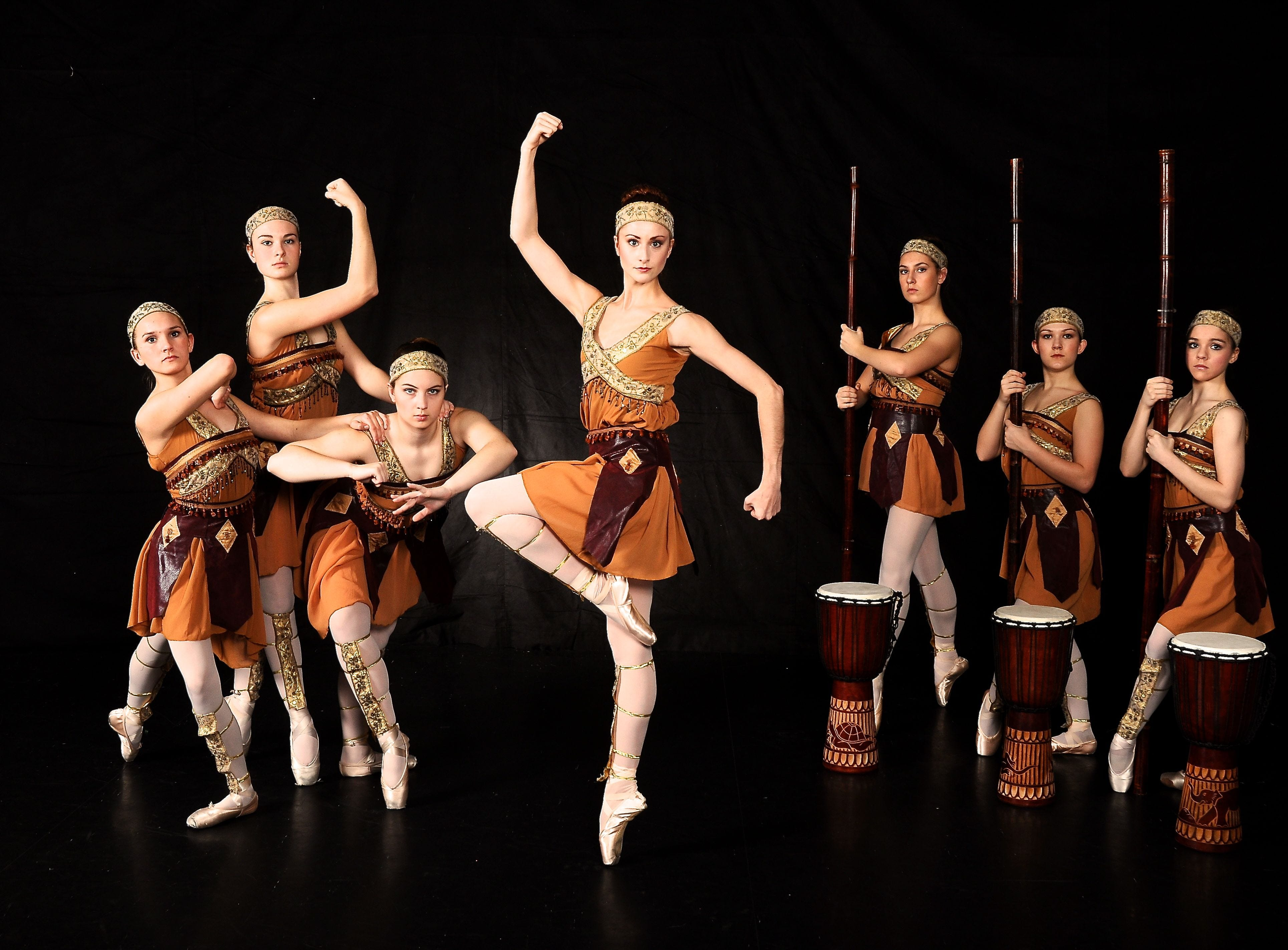 """GO! Contemporary Dance Works will premiere """"Tata Ajache: The story of an Amazon Warrior,"""" Feb. 7-8,  at the Bijou Theatre."""