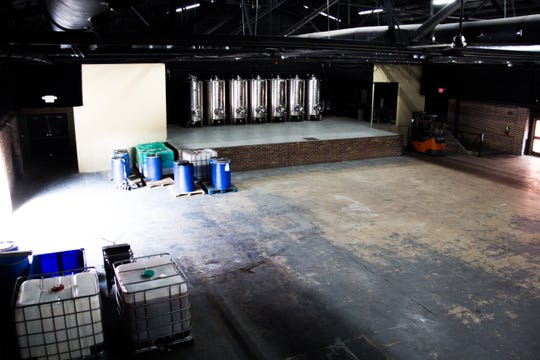 Pictured is the inside of the Winery at The International, which can accommodate around 800 people standing or 300 people sitting in the 10,000-square-foot space.