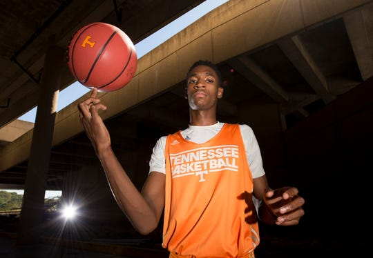 Tariq Owens averaged 1.2 points and 1.1 rebounds and shot 35.3 percent from the field in one season at Tennessee.