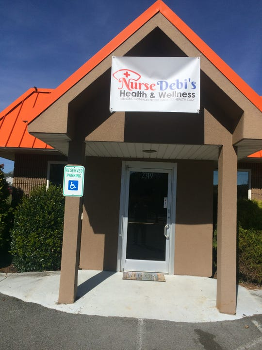 A storefront on West Emory Road across from the splash pad has been home to Nurse Debi's Health and Wellness LLC since Sept. 17.