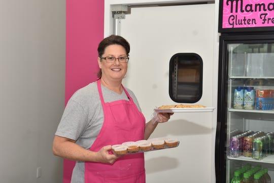 Lynnette Casazza offers gluten free goodies, Keto pumpkin cheesecake and Paleo items on her menu.