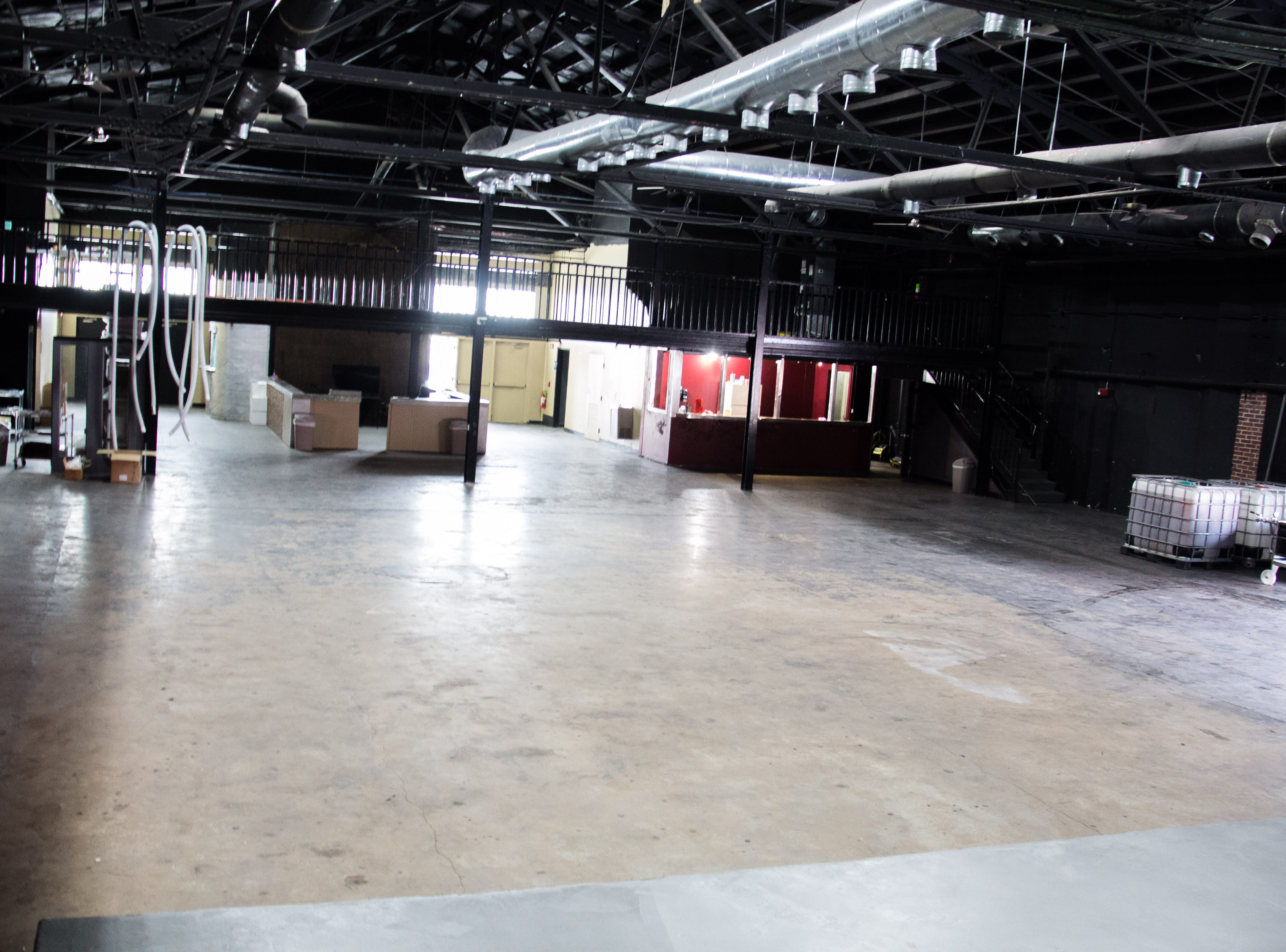 This 10,000 square-foot space inside the Winery at The International will be used for private events and eventually for walk-in business.