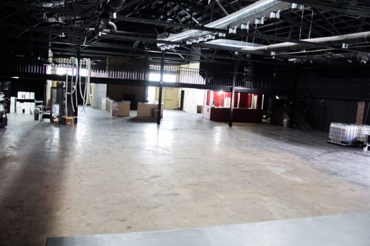 This 10,000-square-foot space inside the Winery at The International will be used for private events and eventually for walk-in business.