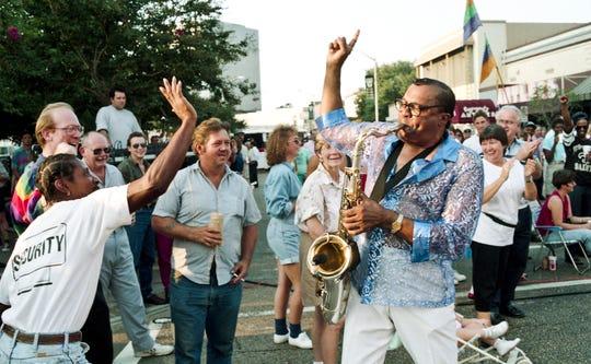 Downtown Alive Sept. 10, 1993 on Jefferson St. in Lafayette, La.
