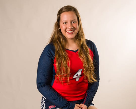 Teurlings Catholic volleyball player Ariana Hebert is named Female Athlete of the Week