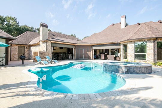 The pool and outdoor areas are perfect for entertaining.