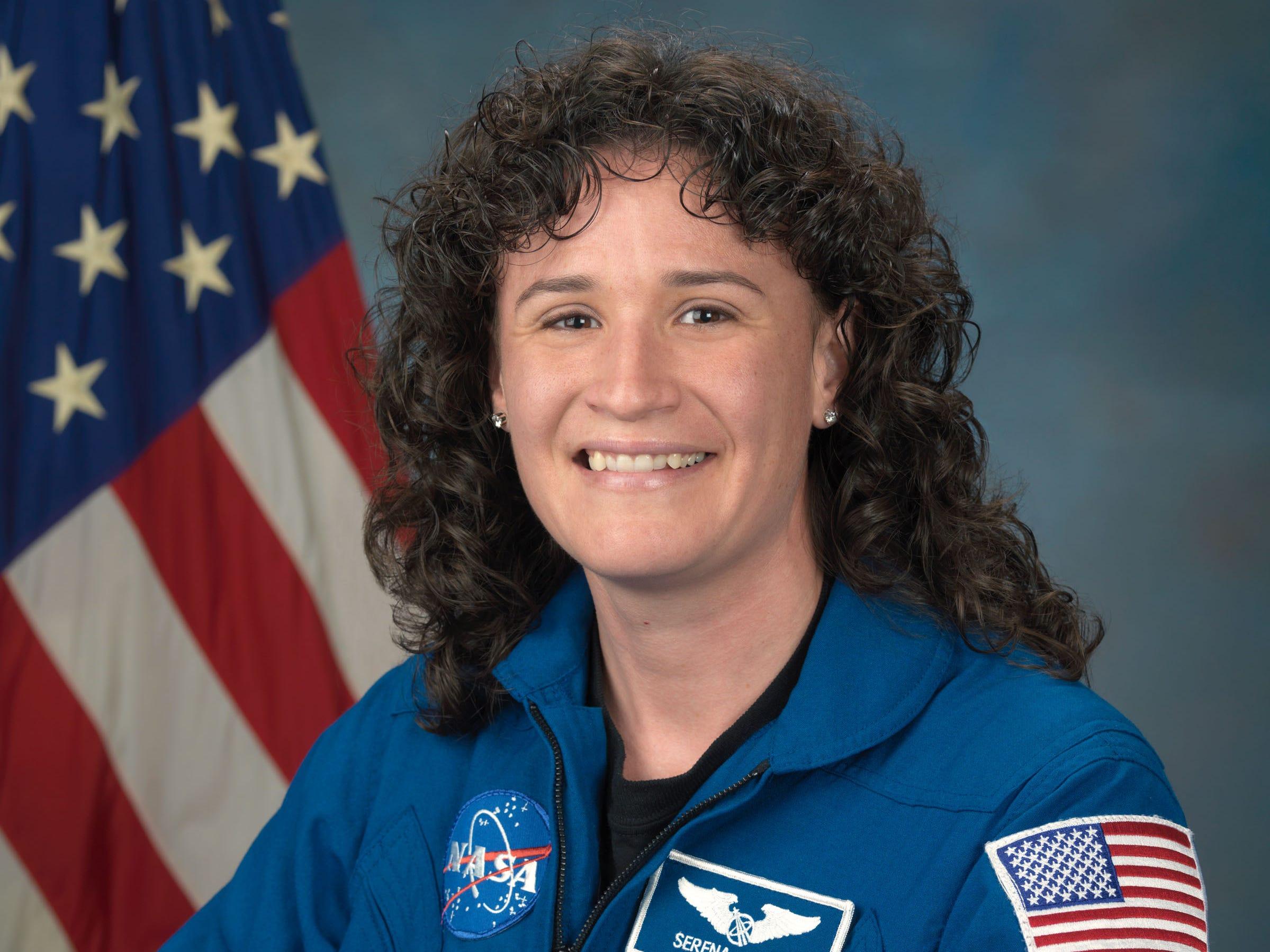 Astronaut Dr. Serena Auñón-Chancellor