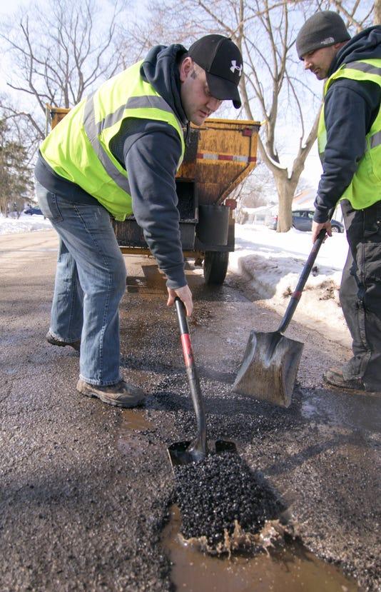 Brighton Pothole Patching 01