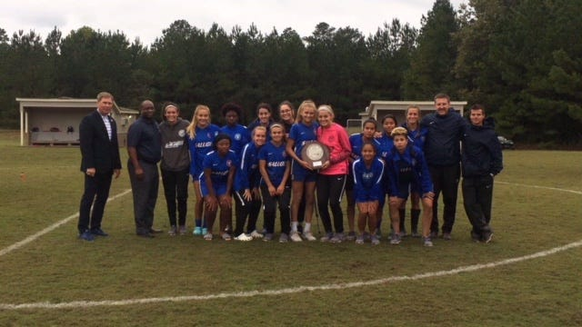 The Southwest Tennessee Community College women's soccer team played Motlow State Oct. 26 for the TCCAA Tournament championship.
