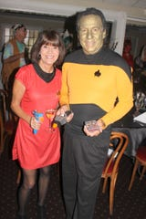 Set phasers to stunning! Pam and Dave Brink stepped off the Starship Enterprise to host the party.