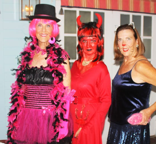 Ghoulfriends Susie Walsh, Candy Seward and Kathryn Rogers.
