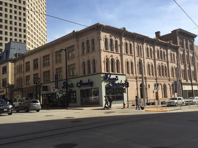 A historic building at the corner of East Wisconsin Avenue and North Broadway might be redeveloped.