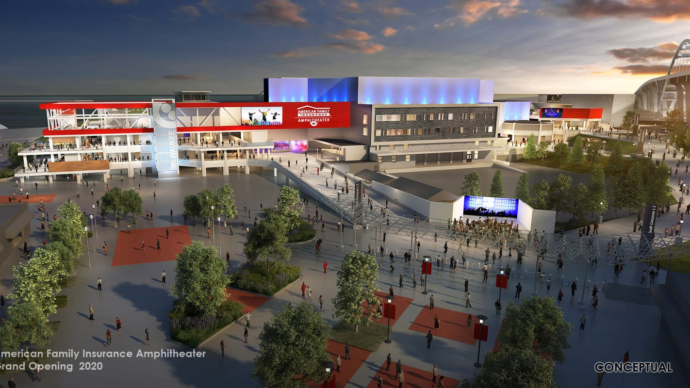 Summerfest unveils new American Family Insurance ... on