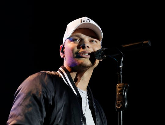 Kane Brown performs at the U.S. Cellular Connection Stage during Summerfest 2018.