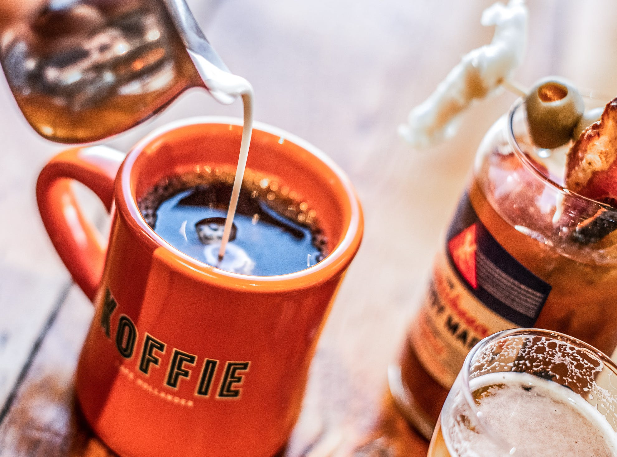 As part of its new brunch, the Lowlands Group also teamed up with Colectivo Coffee for a brand new blend exclusive to Café Hollander.