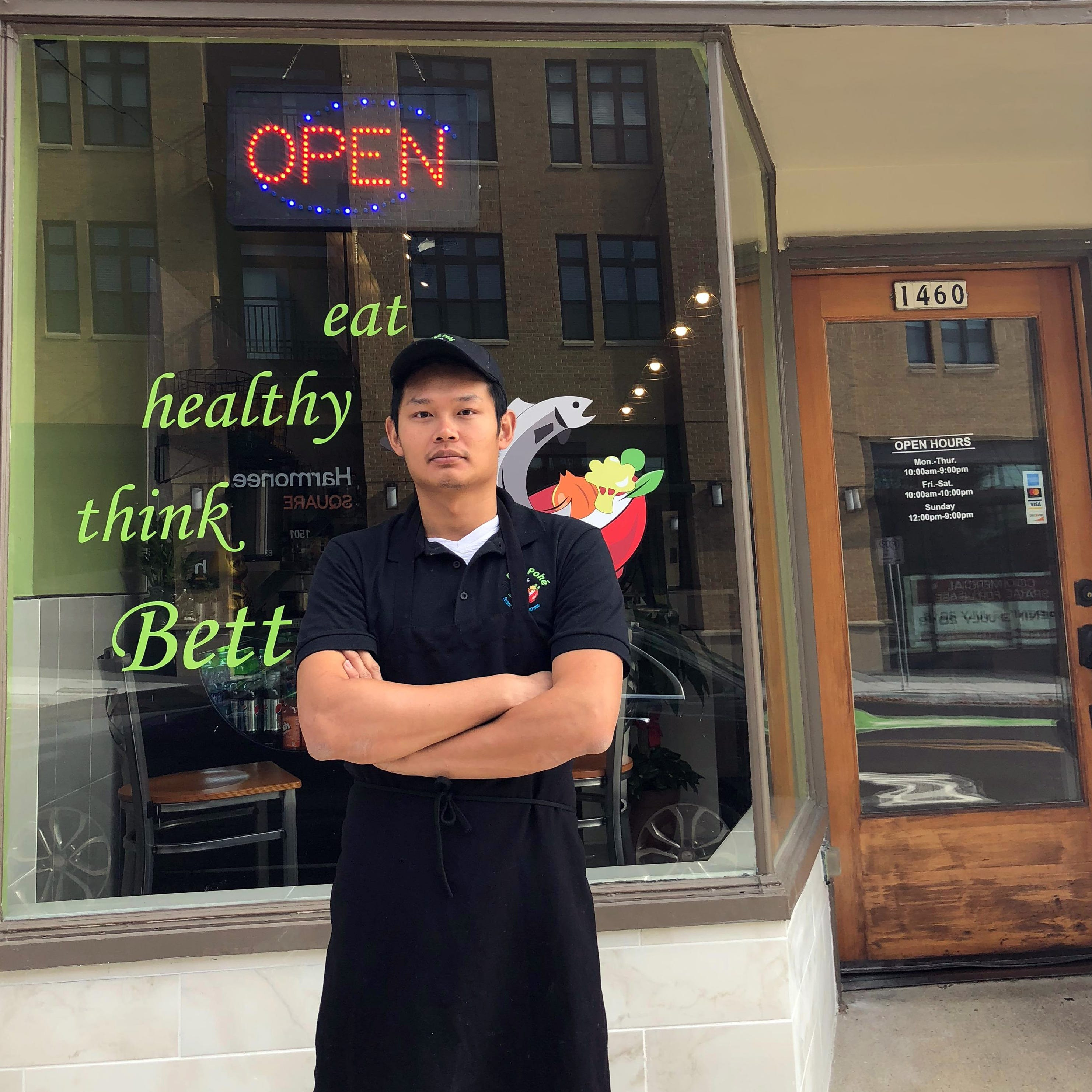 From sushi to poke was a natural for Chinese-born chef
