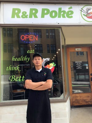 Ren Zhang opened R&R Poke in Wauwatosa in September.