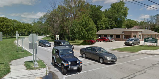 Beautiful Root River Parkway winds around the building at 9008 W. Forest Home Ave., where the Power Up Coffee House and cafe has been proposed, especially to serve bicyclers wanting to stop for a treat.