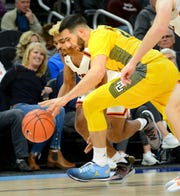 Graduate transfer guard Joseph Chartouny should help Marquette's on-ball defense.