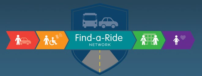 The Find-a-Ride logo.