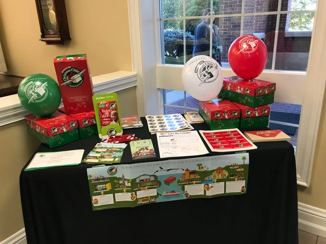Arvest Bank and North Central Arkansas Operation Christmas Child have teamed together to provide empty shoeboxes for anyone packing a shoebox for Operation Christmas Child. Shoeboxes are available at all three Mountain Home locations, and at the Harrison and Yellville locations. Once filled, drop the shoebox off November 12-19 at a local drop off center (go to www.samaritanspurse.org/occ and enter your zip code under Drop Off Locations to find the closest location).To find the closest Arvest bank, go to www.arvest.com. Picutred is the Operation Christmas Child display at main Arvest Bank on Wallace Knob in Mountain Home. For more information about North Central Arkansas Operation Christmas Child, contact Jennifer Baker at (870) 421-3994 or visit their Facebook page: OCC North Central Arkansas.