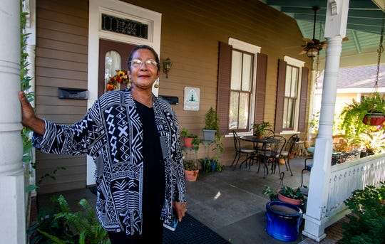Farris Bell shows her Airbnb in Cottage Hill in Montgomery, Ala., on Tuesday October 30, 2018.