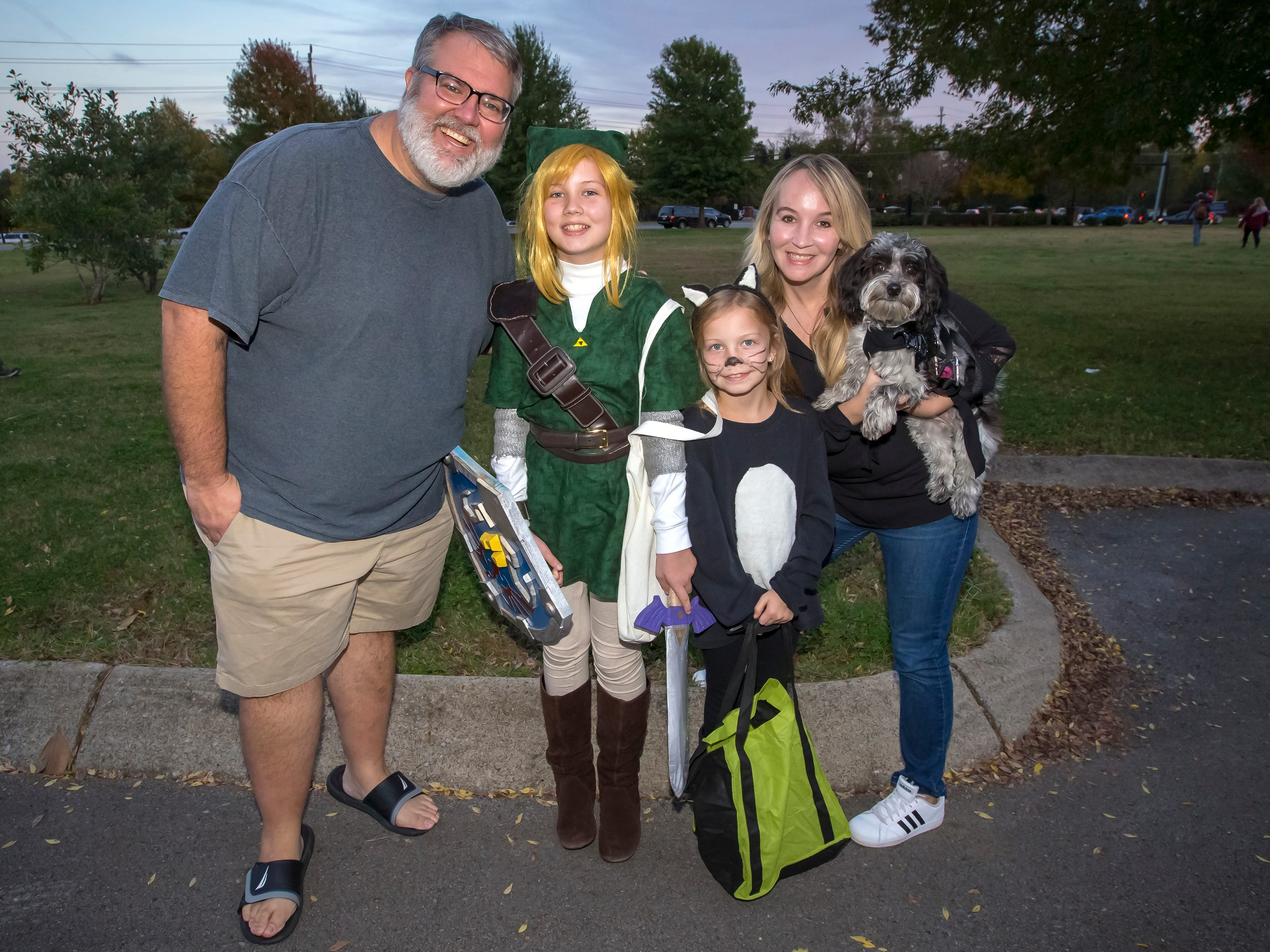 Trick or Treat at MTSU's Greek Row was held Tuesday, Oct. 30, 2018.