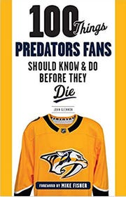 Former Tennessean sports writer John Glennon's new book on the Nashville Predators is on news stands.