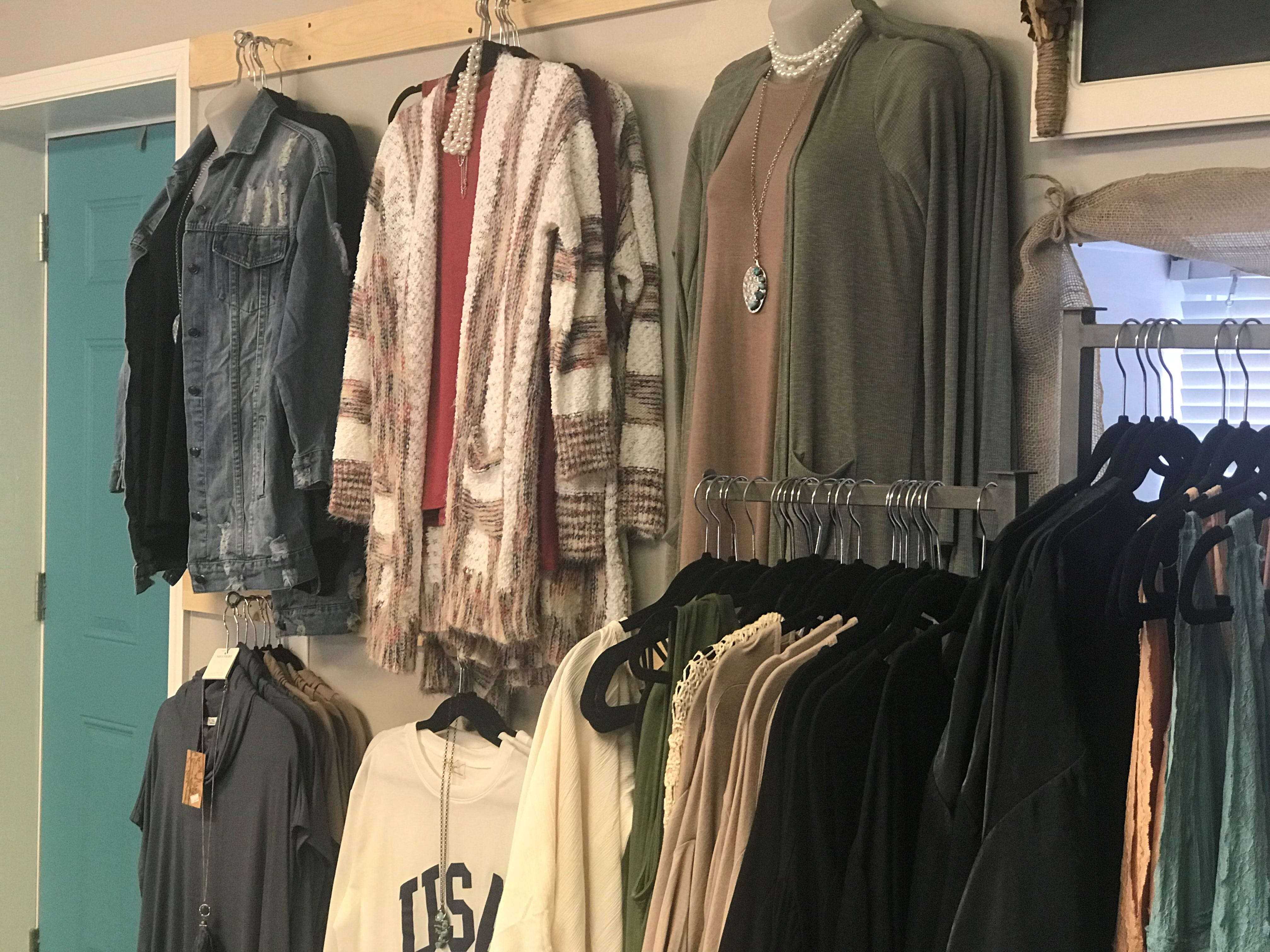 Realtors Cindee Leonard and Nicole Simmons opened Southern Grace and Lace Boutique, located at 2515 Highway 49 East in Pleasant View.