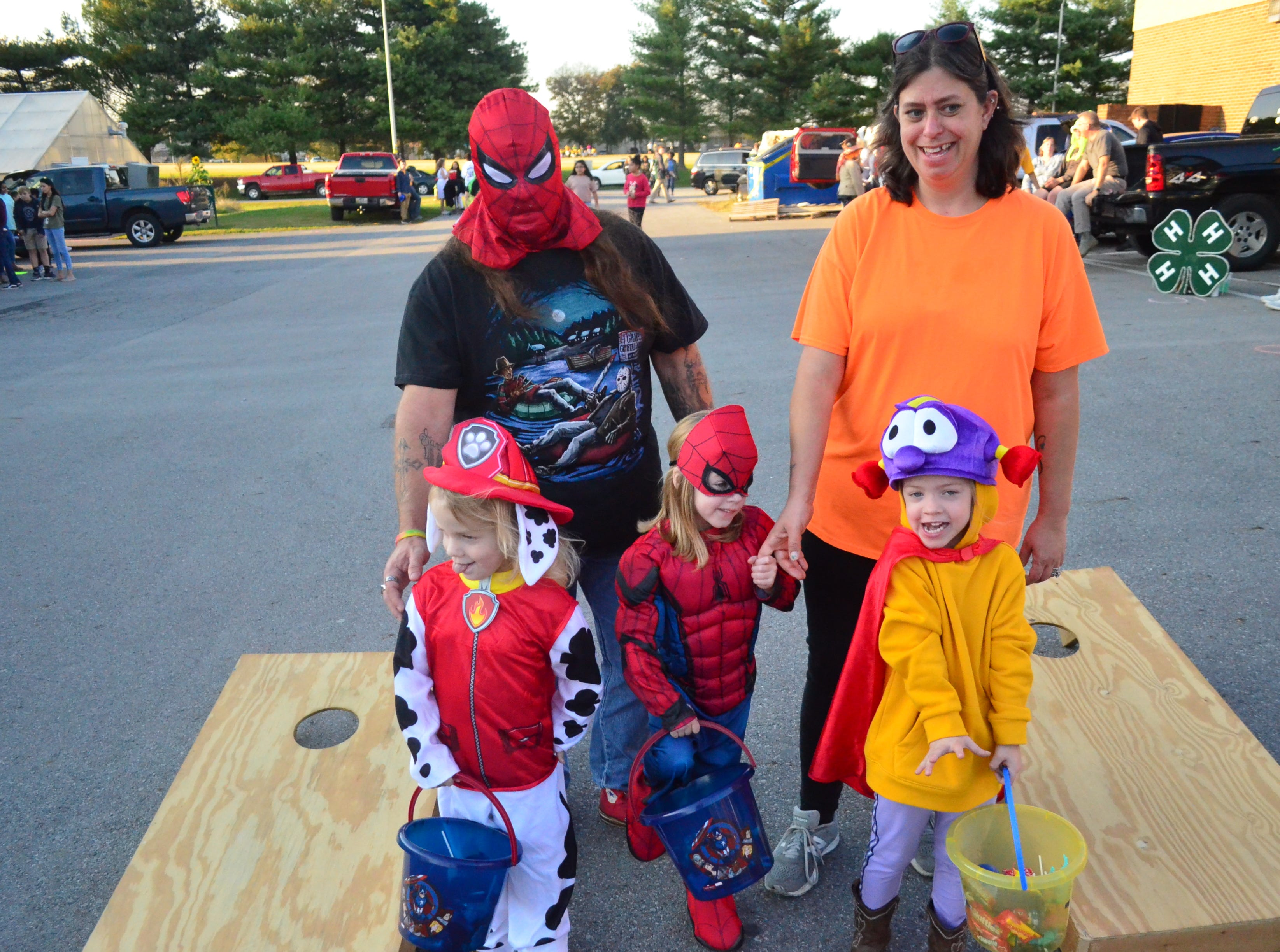 A trunk-or-treating event for CDC student was held at Gallatin High School on Tuesday, Oct. 30, 2018.