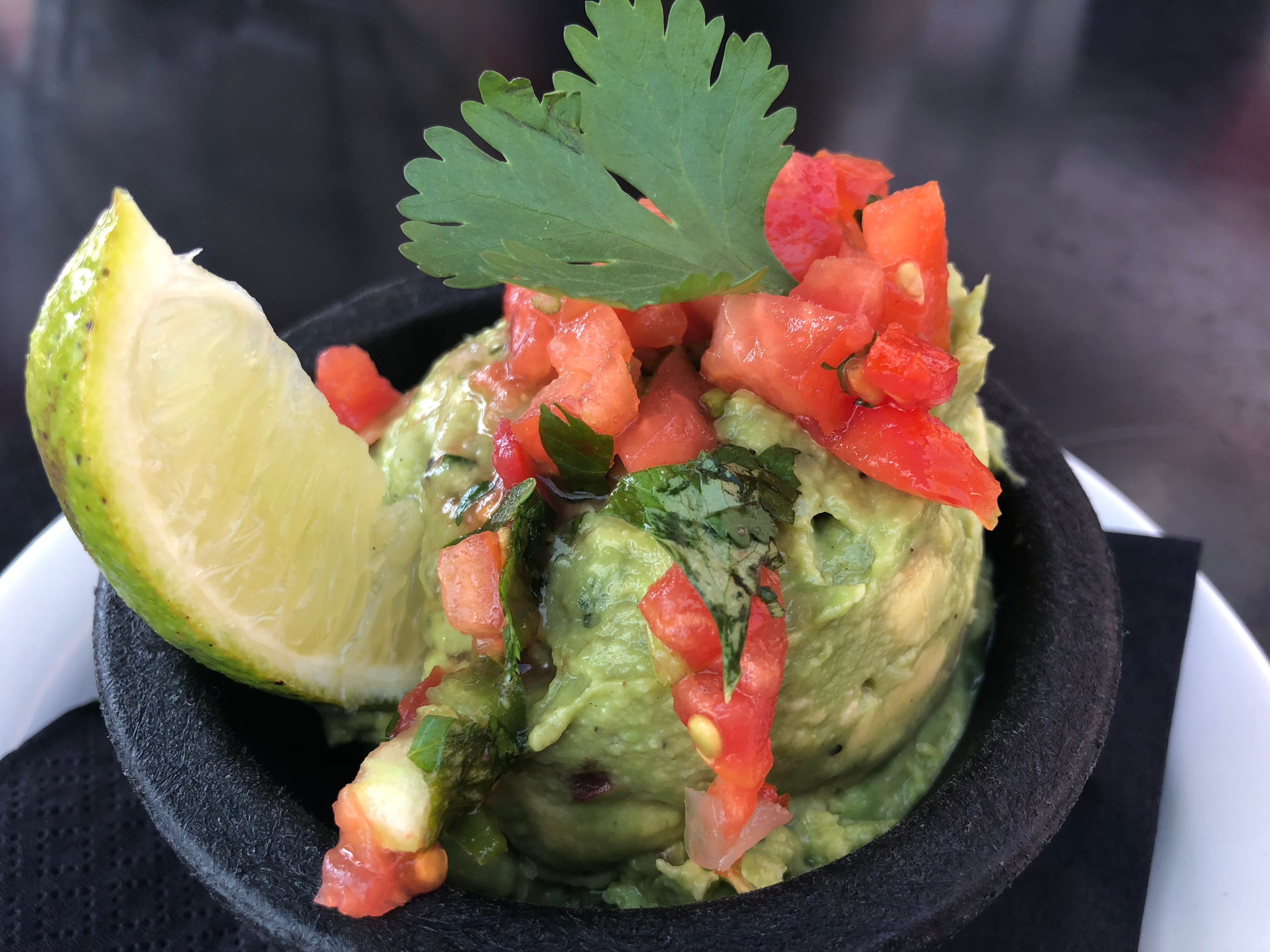 Sopapillas' homemade guacamole was a fresh addition to the meal. The restaurant offers a homemade version as well as a tableside option.