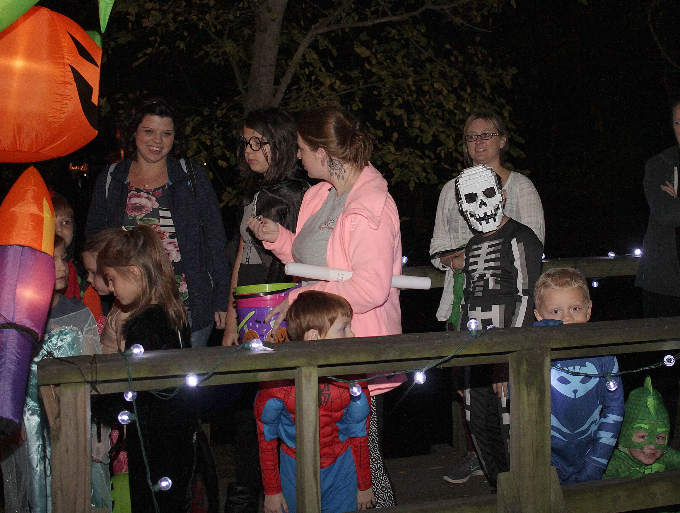 Thousands came out for Halloween at Drakes Creek Park in Hendersonville, TN on Tuesday, October 30, 2018.
