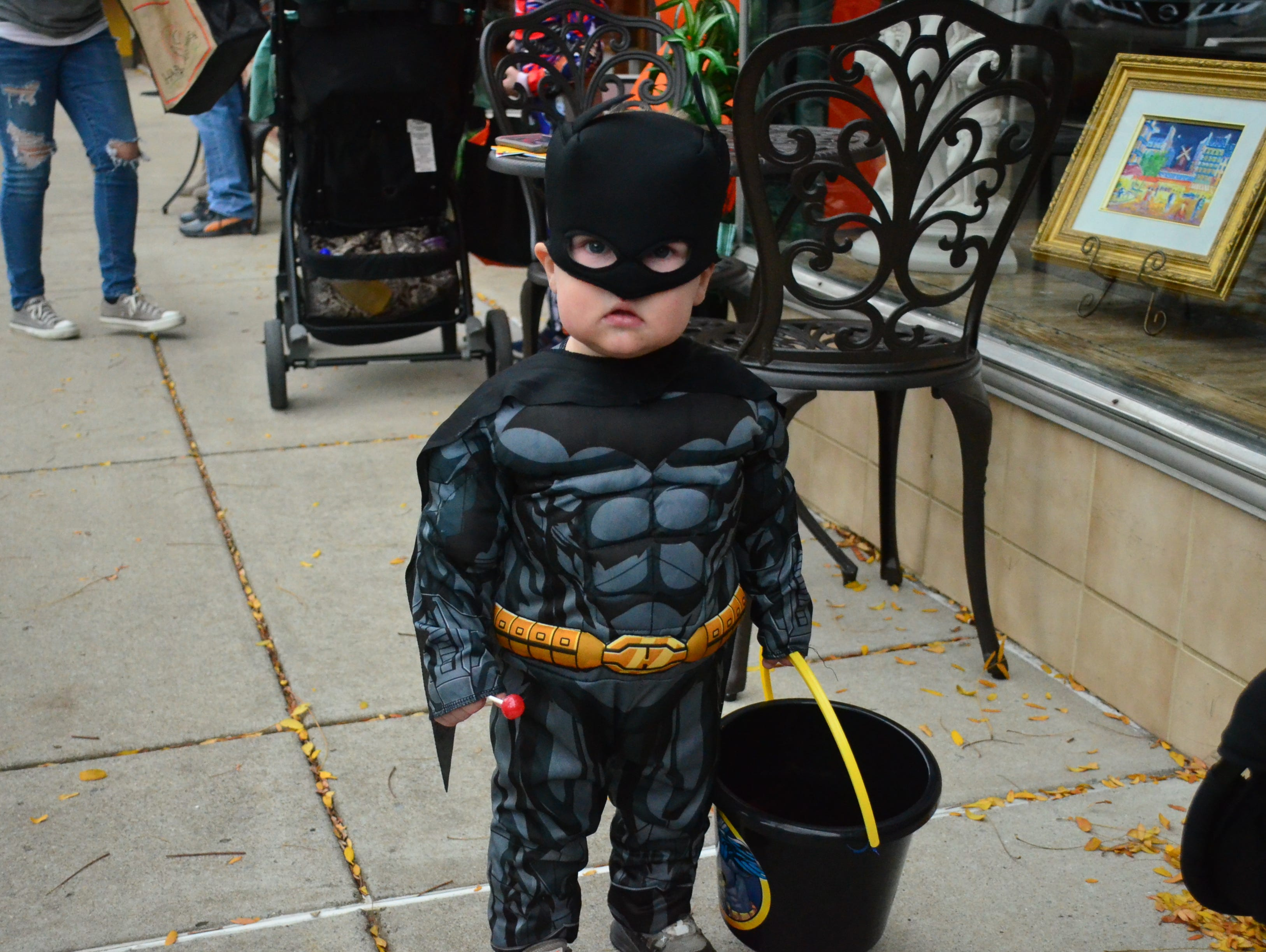 Gallatin's Trick-or-Treat on the Square was a chance for kids to showcase their creative costumes on Wednesday, Oct. 31, 2018.