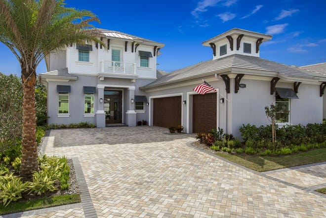 Seagate has started a new furnished model featuring its popular Grenada floor plan at Windward Isle on Airport-Pulling Road in North Naples.