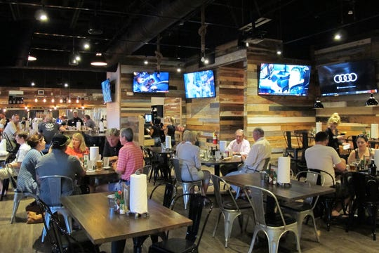 Bone Hook Brewing Co. recently expanded its space, creating an entirely new venue with a food menu for lunch and dinner.