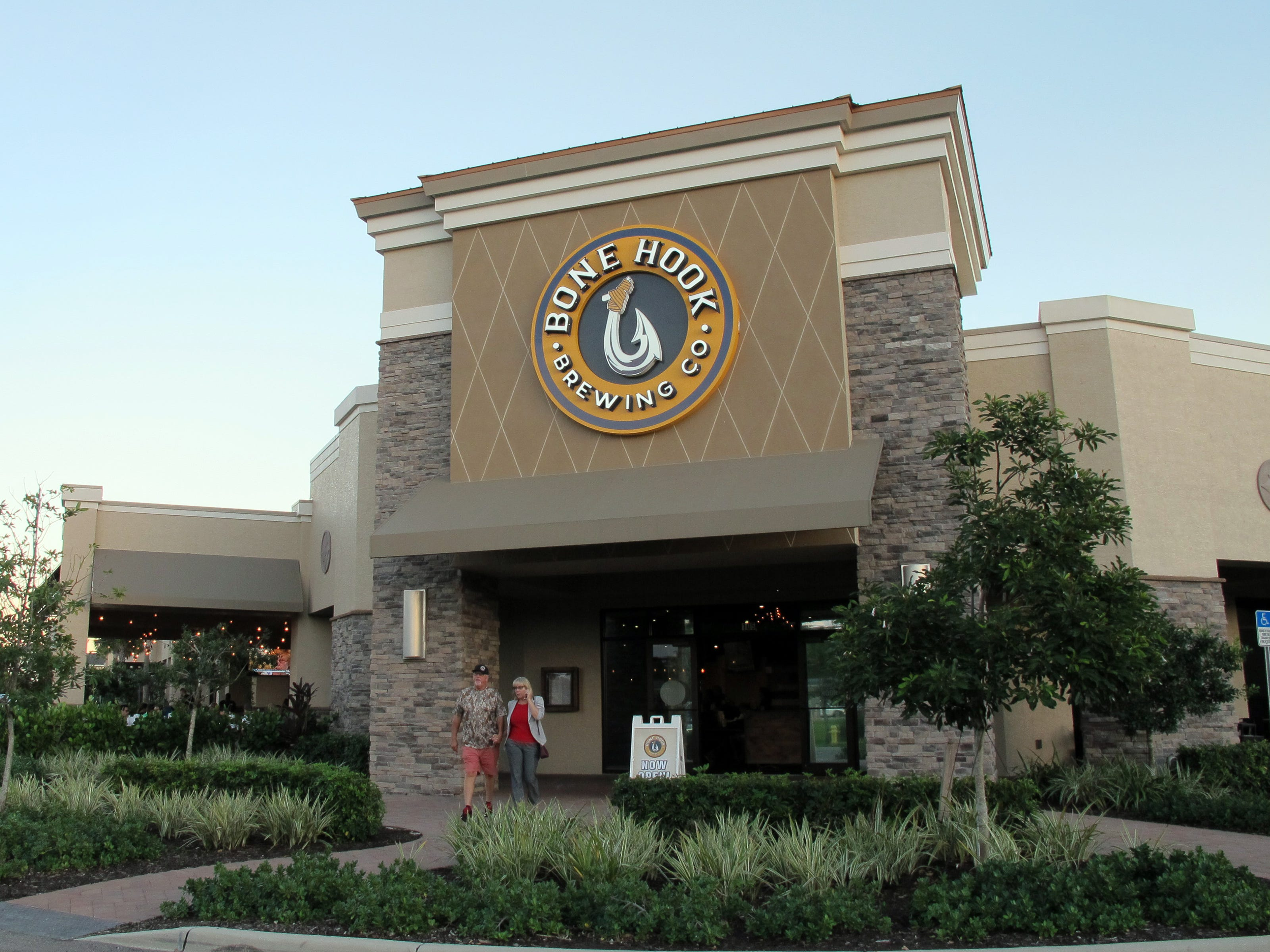 The new Bone Hook Brewing Co. anchors Creekside Corners retail center on the southeast corner of Goodlette-Frank and Immokalee roads in North Naples.