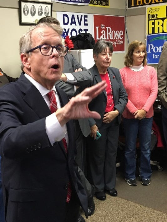Dewine In Newark