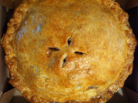 The Able Baker's apple pie