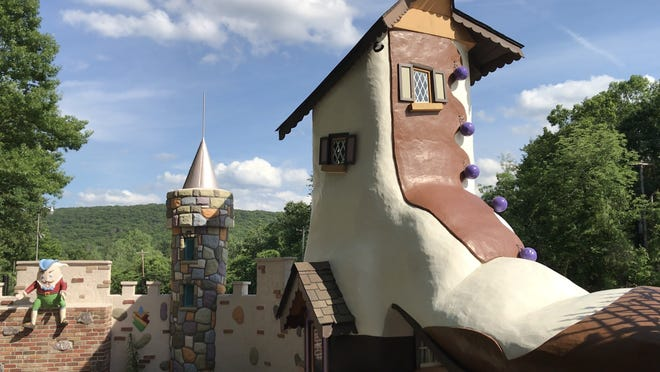 The interior courtyard of Fairy Tale Forest in West Milford is looking as good as new in spring 2018. The park is set to reopen in spring 2019.