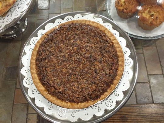Mr. Tod's pecan pie