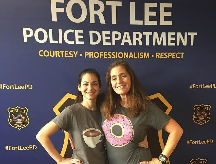 Fort Lee police described these costumes as a cop's best friends for Halloween 2018.