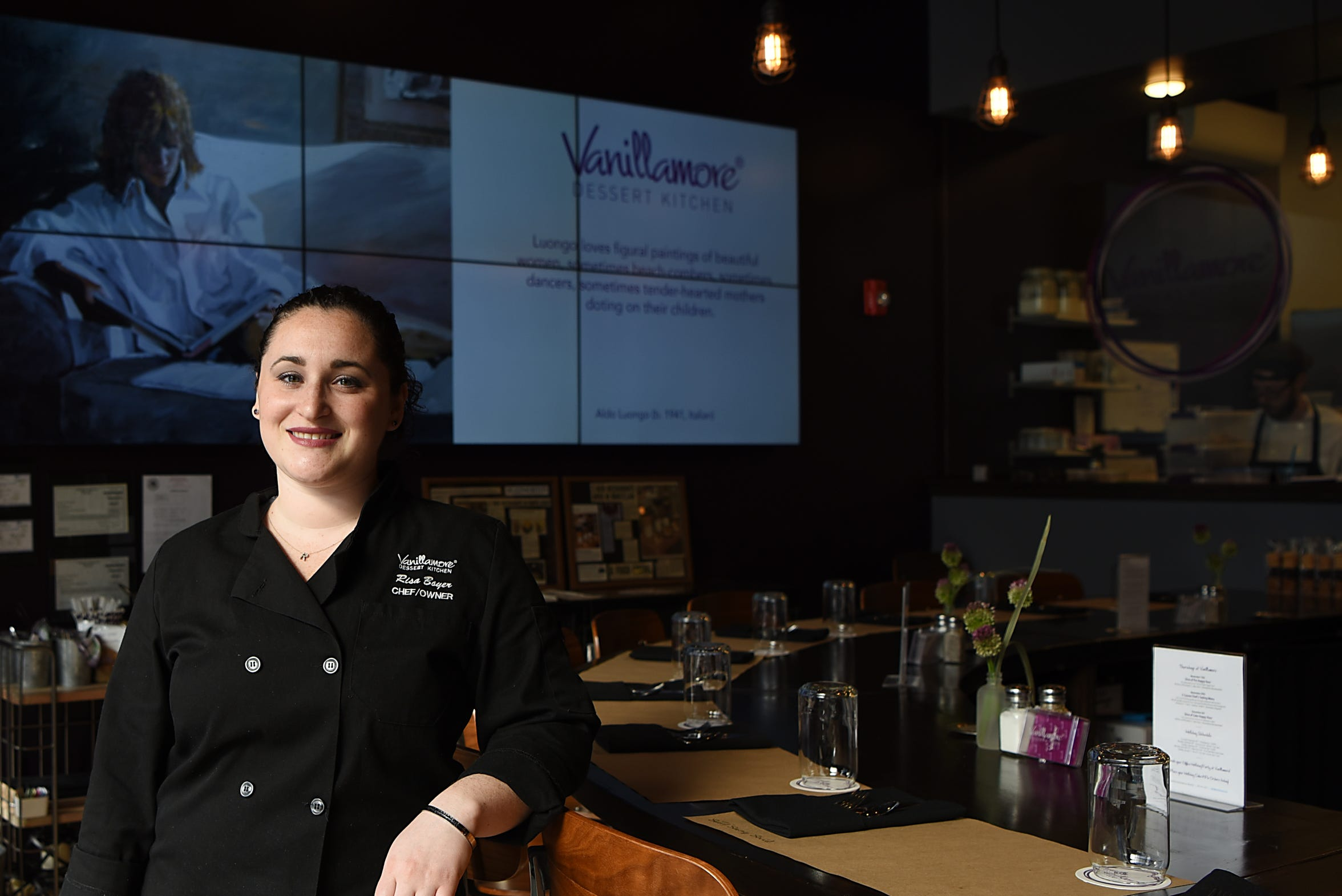 Chef Risa Magid Boyer poses for a photo in Vanillamore in Montclair on Wednesday October 31, 2018.