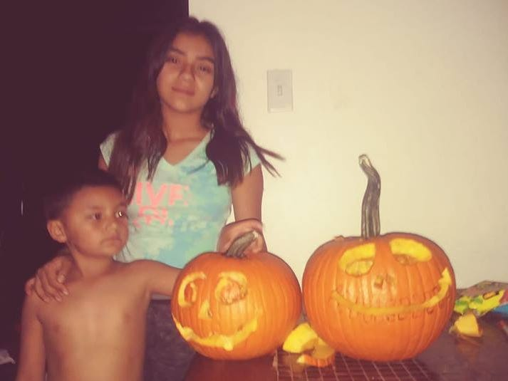 Pumpkins by Kristian Olvera family.